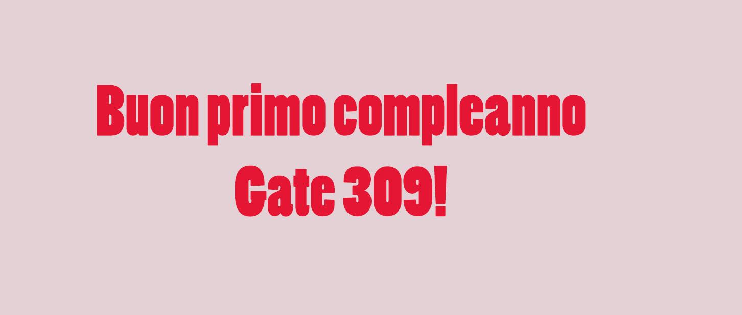 Buon primo compleanno, Gate 309! 7