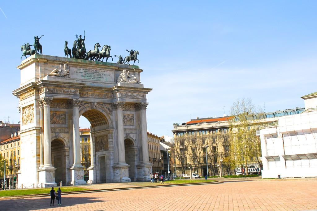 itinerario per visitare milano