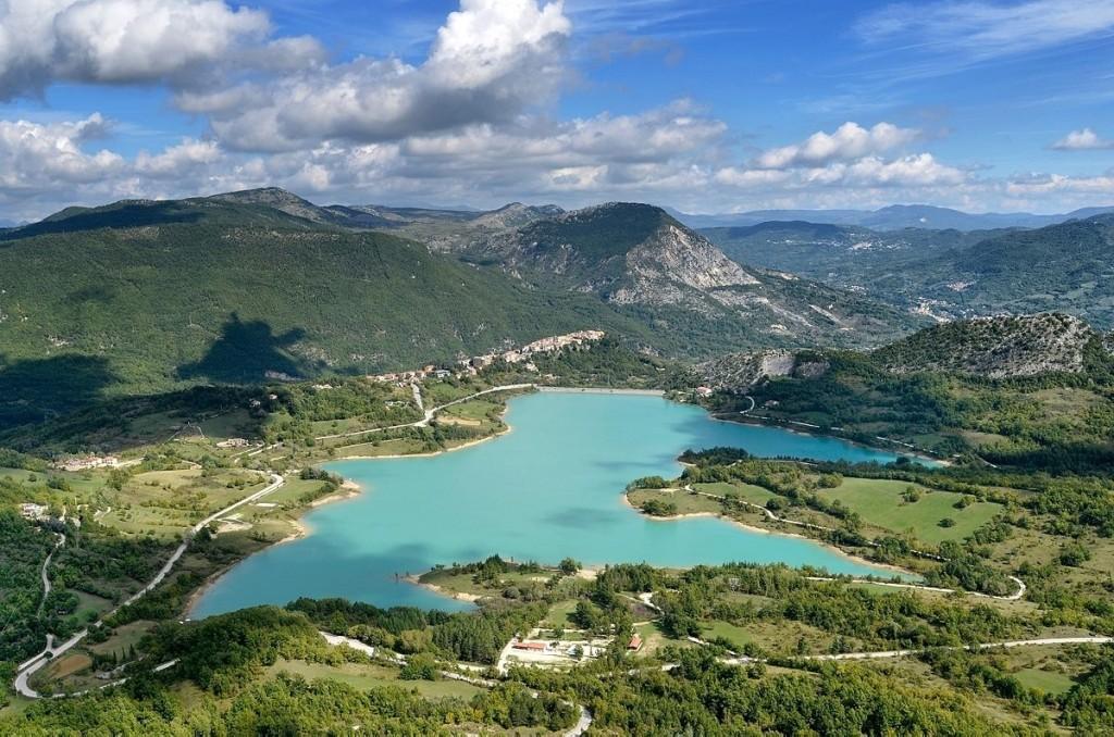 Lago di Castel San Vincenzo - Foto di Franco Cappellari
