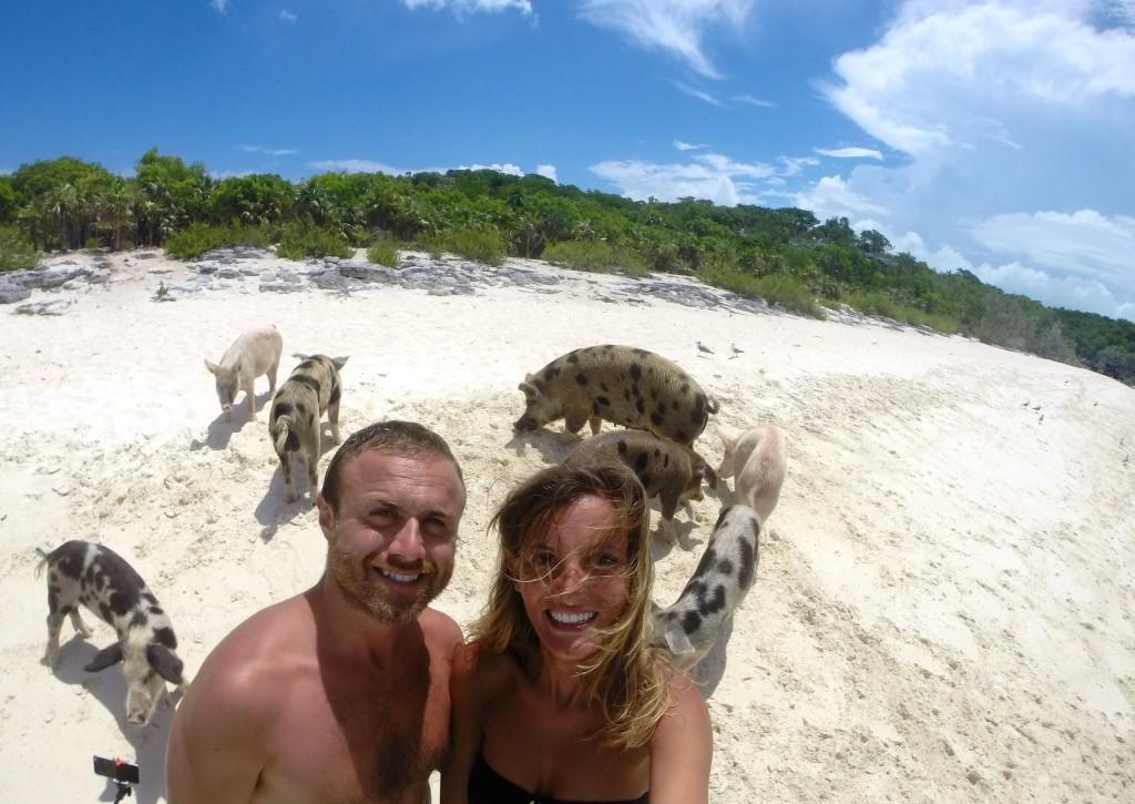 Fare il bagno sull 39 isola dei maiali - Si puo fare il bagno dopo mangiato ...