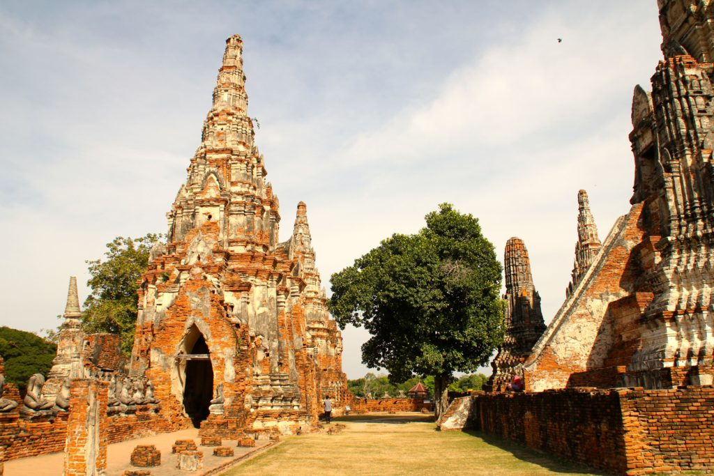 Ayutthaya in scooter