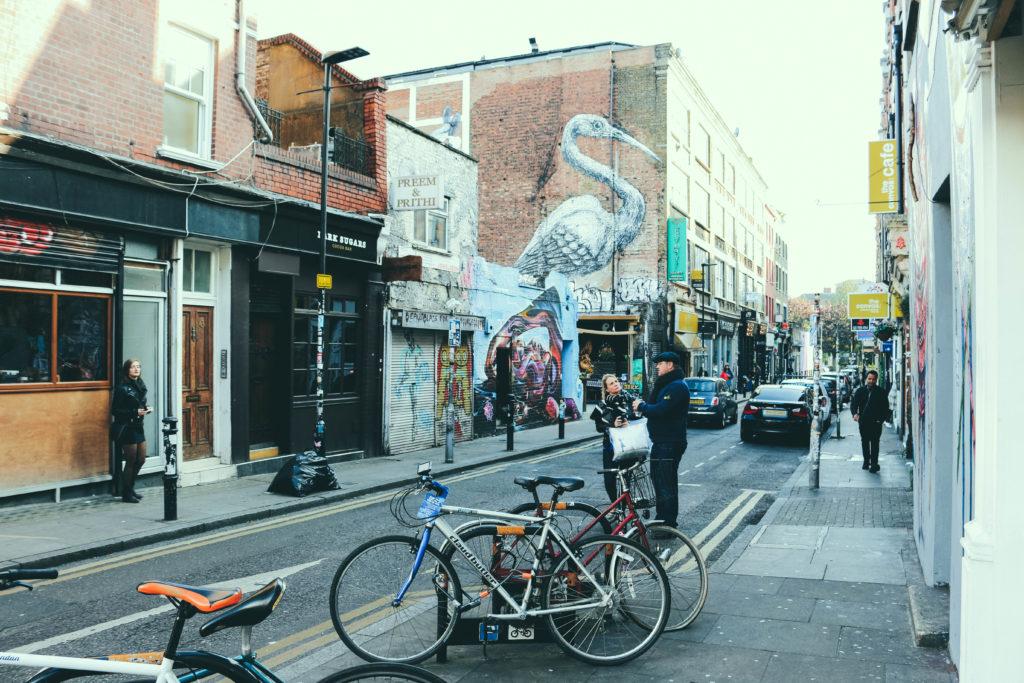 dintorni di liverpool street