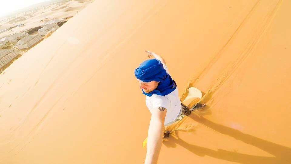 dormire nel deserto in marocco