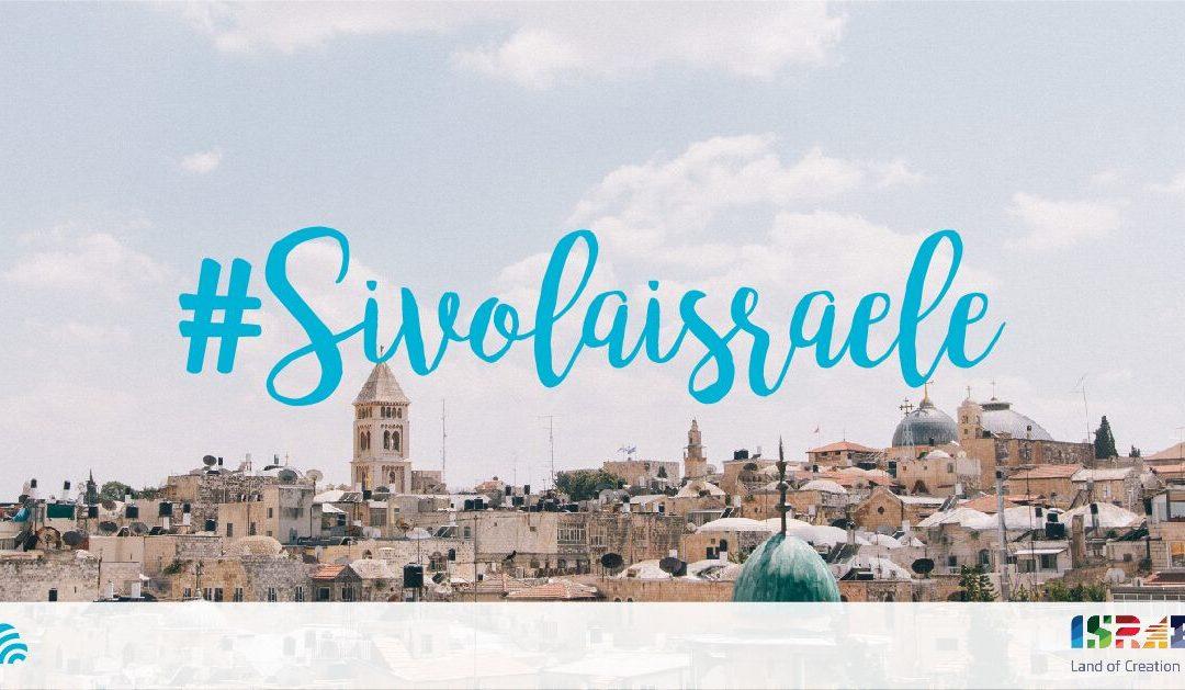 1, 2, 3…Destinazione Israele!