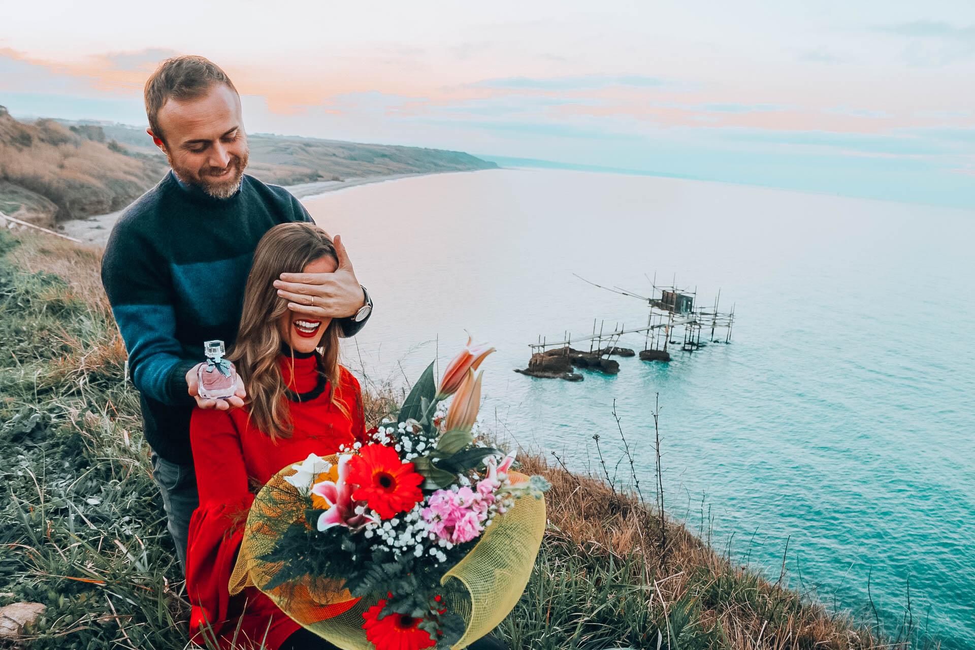 proposta di matrimonio in viaggio