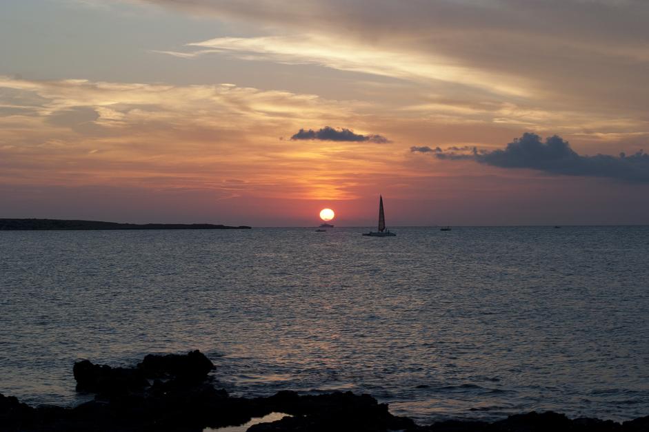 formentera dall'alba al tramonto