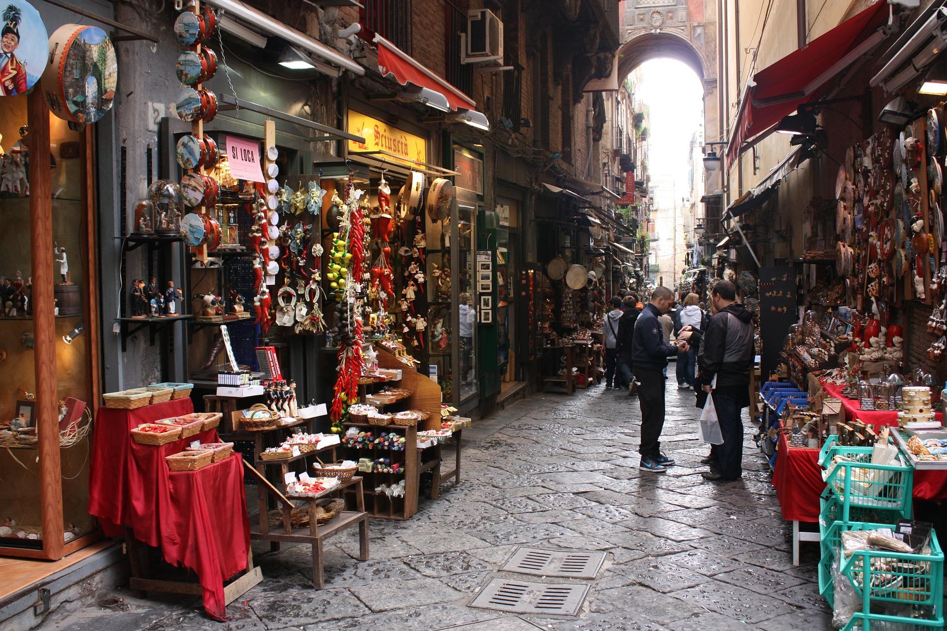prima volta a Napoli